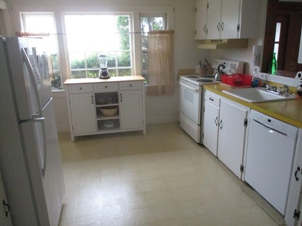 North Chatham Cape Cod vacation rental - Fully Equipped Kitchen with View of Pleasant Bay + Private Beach
