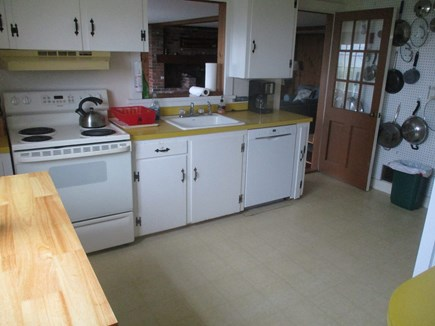 North Chatham Cape Cod vacation rental - Fully Equipped Kitchen with New Dishwasher and Island