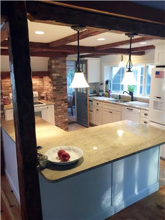 New Seabury New Seabury vacation rental - Open kitchen centered between living room, dining room and porch.