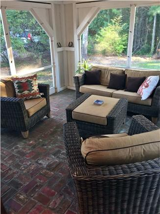 New Seabury New Seabury vacation rental - Screened-in porch with a dining area as well.