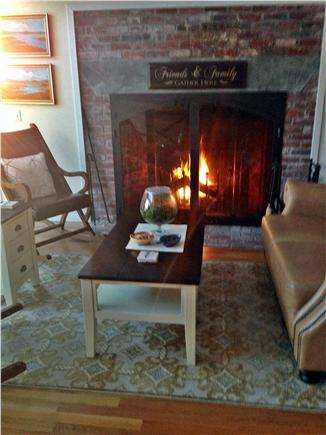 Chatham - Ridgevale Beach  Cape Cod vacation rental - Casual comfortable seating in family area.