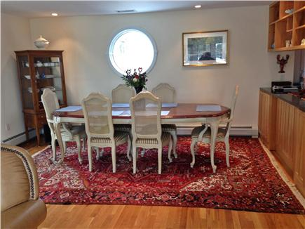 Chatham - Ridgevale Beach  Cape Cod vacation rental - Large comfortable dining area