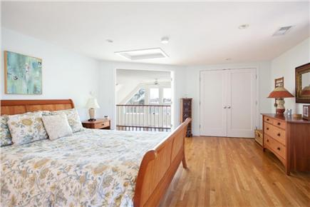 Chatham - Ridgevale Beach  Cape Cod vacation rental - Luxury Private master suite with a balcony and private deck.