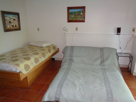 Wellfleet Cape Cod vacation rental - Single and full size futon on lower level walk out floor