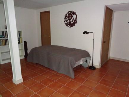 Wellfleet Cape Cod vacation rental - Single bed on lower level open area