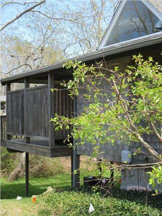 Wellfleet Cape Cod vacation rental - Rear of house
