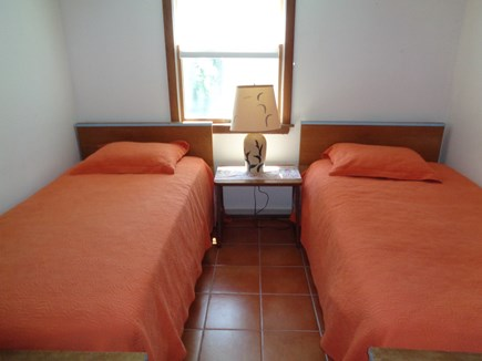 Wellfleet Cape Cod vacation rental - Twins in the bedroom on the lower level walk out level