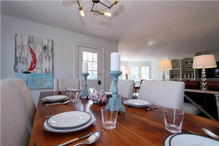 Harwich Port Cape Cod vacation rental - Dining Area open to living area