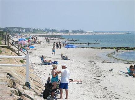 Yarmouth Cape Cod vacation rental - Parkers River Beach picture from town website