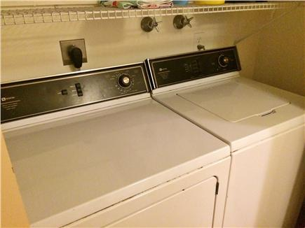 Yarmouth Cape Cod vacation rental - Washer and Dryer on Main Floor (not in the cellar).