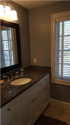 Osterville Osterville vacation rental - Second Floor Master Bath with granite counter & new shower