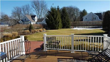 Osterville Osterville vacation rental - Deck, patio, grill and spacious yard