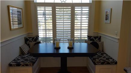 Osterville Osterville vacation rental - Sunny Custom  Kitchen Banquette