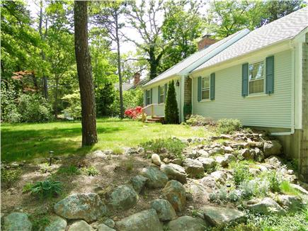 Brewster Cape Cod vacation rental - View from the rock garden.