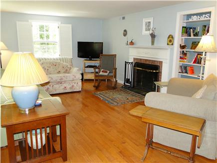 Brewster Cape Cod vacation rental - Living room the other way