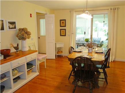 Brewster Cape Cod vacation rental - Dining room one way