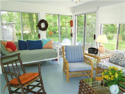 Brewster Cape Cod vacation rental - You can see the day bed here - it's perfect for napping.