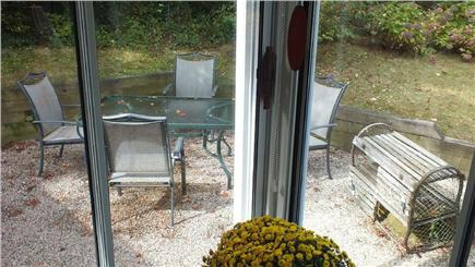 Brewster Cape Cod vacation rental - A nice  patio with a great grill. Outdoor meals here are lovely.