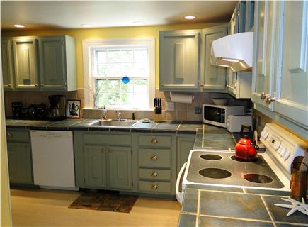 Brewster Cape Cod vacation rental - Kitchen coming in