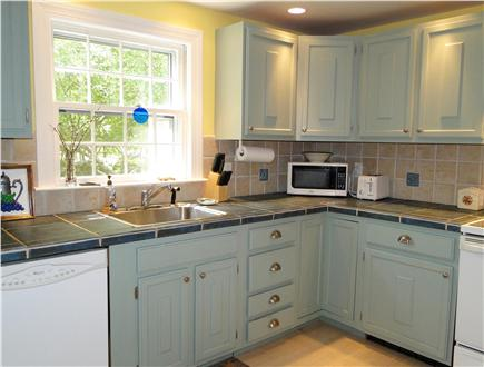 Brewster Cape Cod vacation rental - Here's the kitchen getting some nice afternoon light.