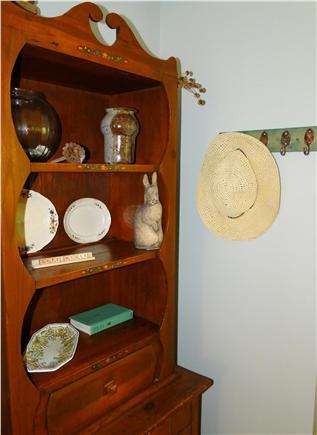 Brewster Cape Cod vacation rental - Game cupboard.