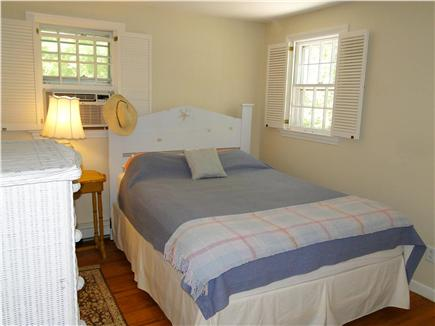 Brewster Cape Cod vacation rental - Master bedroom with a Queen size and adjoining bathroom.