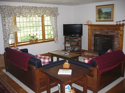 Chatham Cape Cod vacation rental - Comfortable living room with TV
