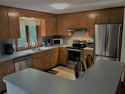 Chatham Cape Cod vacation rental - Kitchen with stainless appliances and breakfast bar