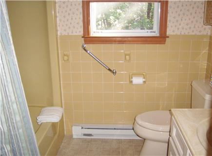 South Dennis Cape Cod vacation rental - Good size bathroom with tub/shower.