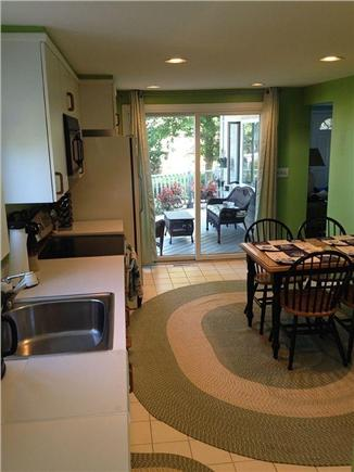Plymouth MA vacation rental - View of Lower Deck seating area from the Kitchen.