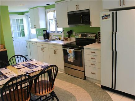 Plymouth MA vacation rental - Large updated Kitchen with Brand New GE glass cooktop range/oven.