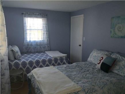 Plymouth MA vacation rental - Bedroom 2 with Queen & Twin size beds.