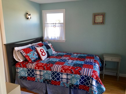 Plymouth MA vacation rental - Bedroom 2- Queen Bed with access to 2nd floor Deck