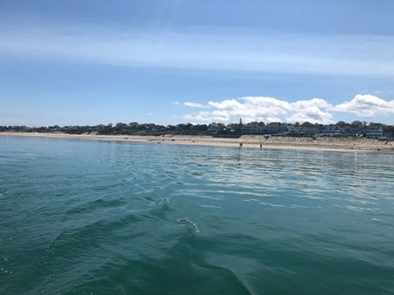Plymouth MA vacation rental - View of Priscilla Beach from Cape Cod Bay!