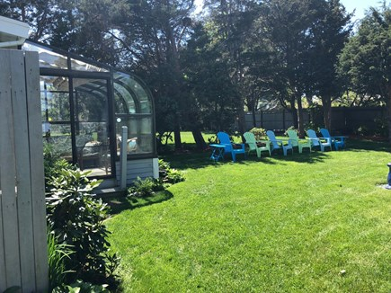 Plymouth MA vacation rental - 4- Season Greenhouse. Enjoy in all weather.