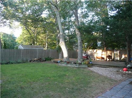 Osterville Osterville vacation rental - Large private back yard with large shaded deck