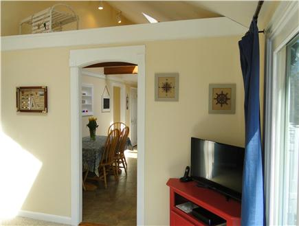 Dennis Cape Cod vacation rental - View of kitchen from sitting room