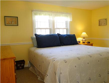 Dennis Cape Cod vacation rental - King size master bedroom with TV
