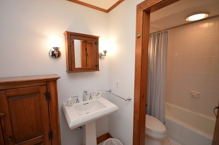 Orleans, Eastham Cape Cod vacation rental - Clean full bathroom with tub and shower