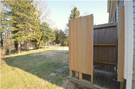 Orleans Cape Cod vacation rental - Large enclosed outdoor shower with private area