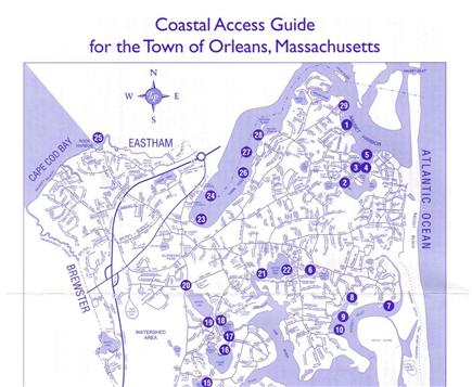 Orleans Cape Cod vacation rental - Coastal access guide for the town of Orleans