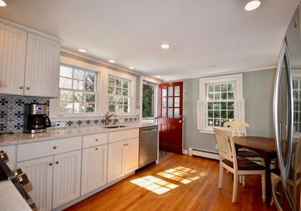 Orleans Cape Cod vacation rental - Newly renovated kitchen with views to deck and yard