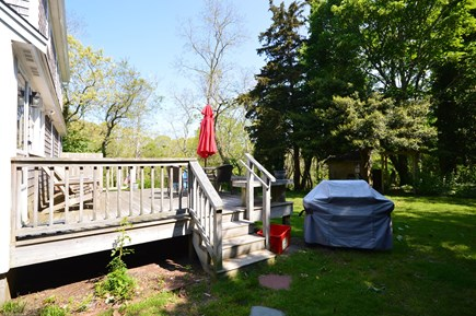 Orleans Cape Cod vacation rental - Back deck with outdoor dining and gas grill