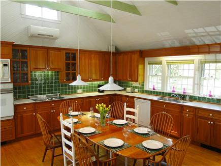 Orleans Cape Cod vacation rental - Large bright country kitchen with vaulted ceiling, modern ameniti