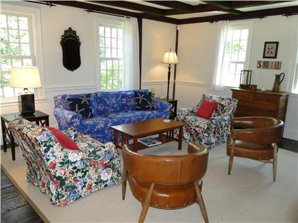 Orleans Cape Cod vacation rental - Charming sitting room with fireplace