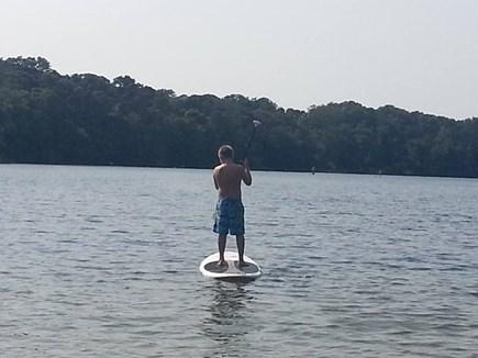 Orleans Cape Cod vacation rental - Paddleboarding at Crystal Lake