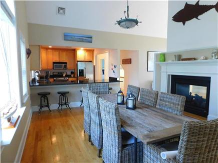 Hyannis Cape Cod vacation rental - Dining room, gas fireplace