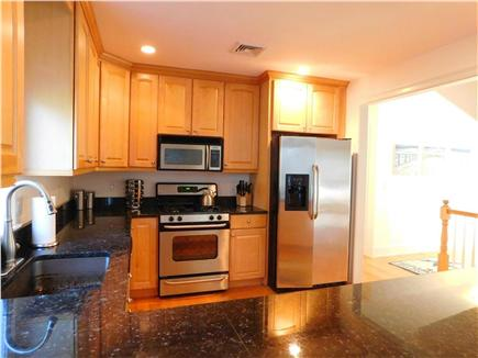 Hyannis Cape Cod vacation rental - Kitchen, open to dining room, living room