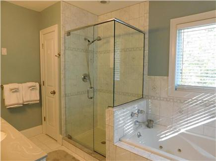 Hyannis Cape Cod vacation rental - Private master bathroom, jetted tub