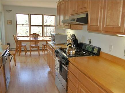 Truro Cape Cod vacation rental - Gas stove/large fridge/dishwasher. Quality pans,utensils,spices.